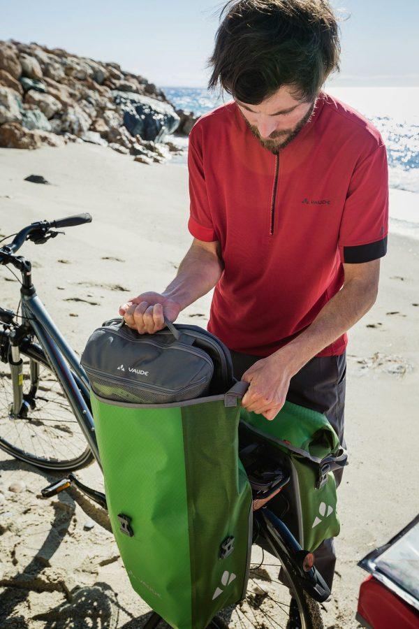 Bisage za bicikl AQUA BACK, canary, VAUDE - 02