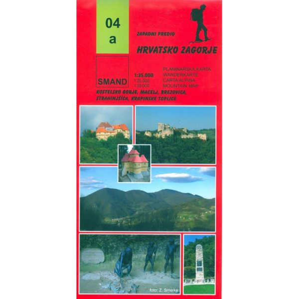 SMAND karta - Hrvatsko zagorje