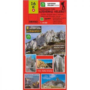 SMAND Karta - Nacionalni park Sjeverni Velebit