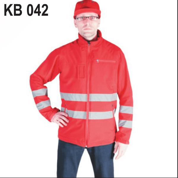 Reflektirajući radni kombinezon sa sigurnosnim pojasom