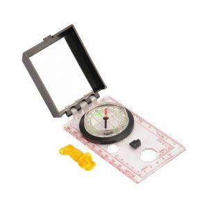 Kompas s ogledalom .