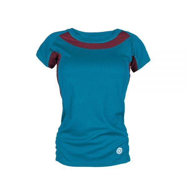 Ženska aktivna majica za trail trčanje TLELL LADY